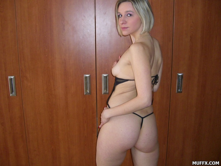 sexy blonde coed gif