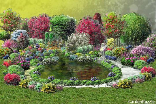 my pound - GardenPuzzle - online garden planning tool