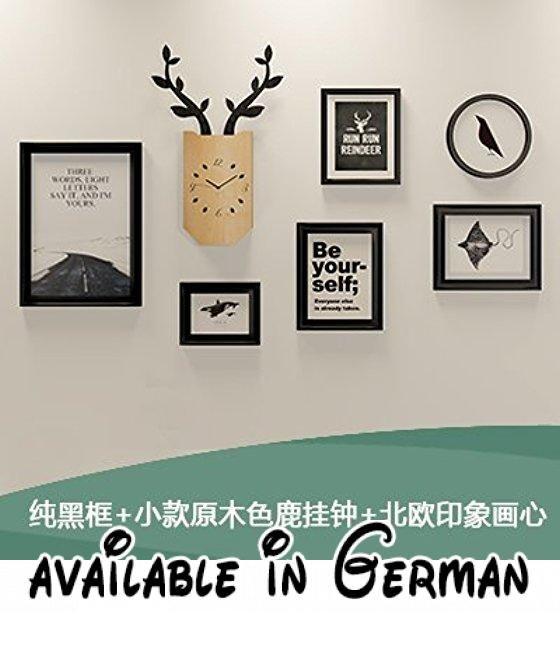 Kreative Fotowand Das Wohnzimmer Restaurant im Kinderzimmer wand - wanduhr design wohnzimmer