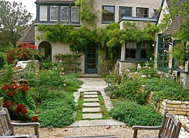 Die besten 17 ideen zu vorgarten gehweg auf pinterest for Gartengestaltung country