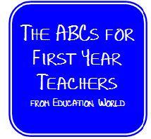 HoJos Teaching Adventures: ABCs for 1st Year Teachers - borrowed! =)