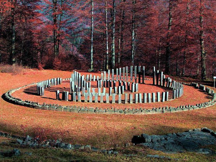 The most important and largest circular Dacian sanctuaries - the Circular Calendar - Sarmisegetuza Regia