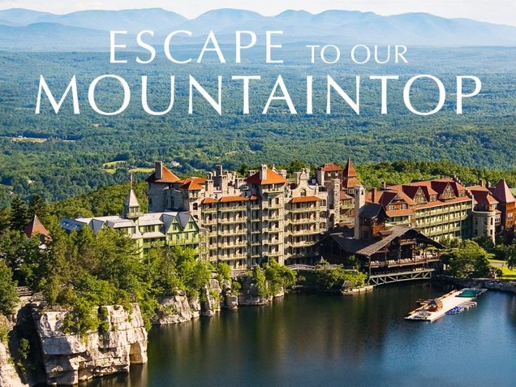 Hudson Valley Resort Mohonk Hotels Things To See Pinterest Resorts