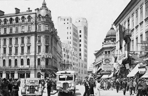 poze poza Poze vechi Bucuresti, trafic aglomerat pe bdul Elisabeta