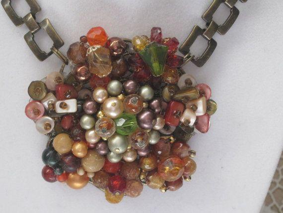 Vintage Jewelry Hand Designed Necklace by LunasVintageDesigns