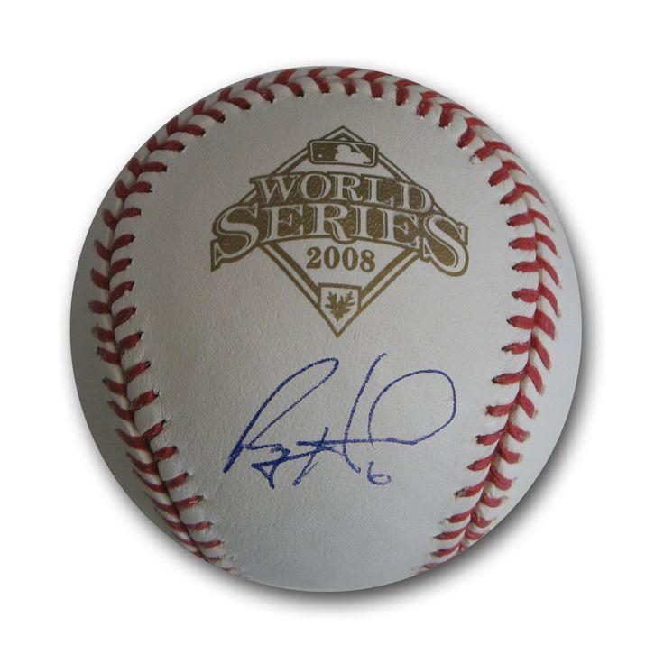 Autographed Ryan Howard 2008 World Series Baseball (MLB Authenticated)