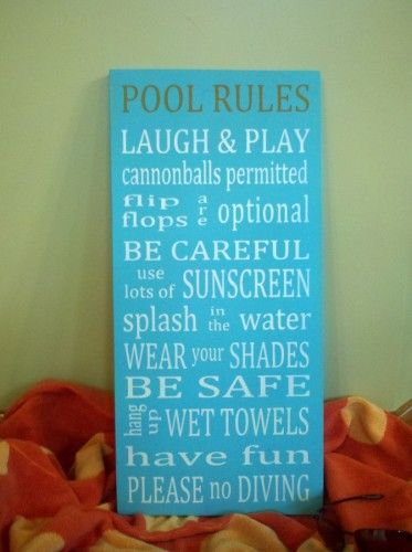 1066 best cricut craft ideas images on pinterest cricut for Pool design rules