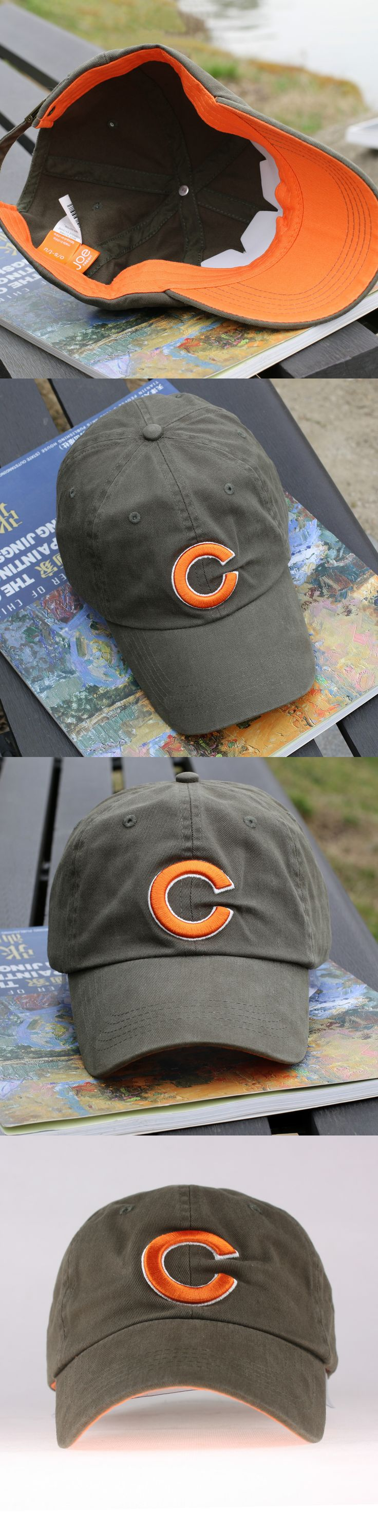 Male Korean Baseball Cap Hat spring summer outdoor sports cap cotton peaked cap sunscreen sun hat