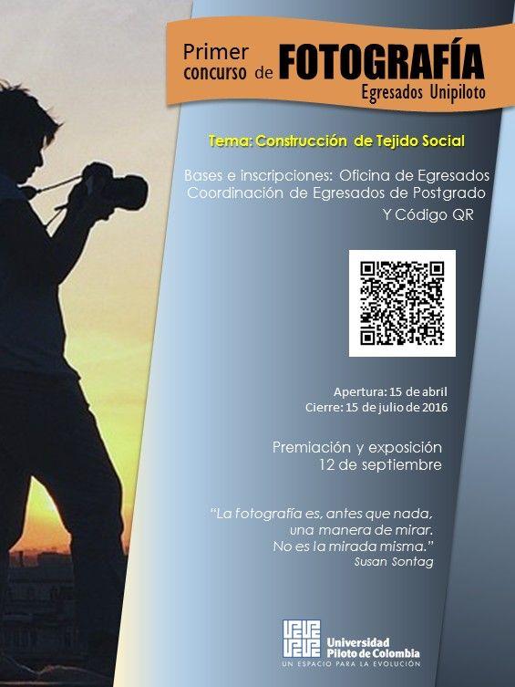 Concurso de fotografía para egresados Unipiloto