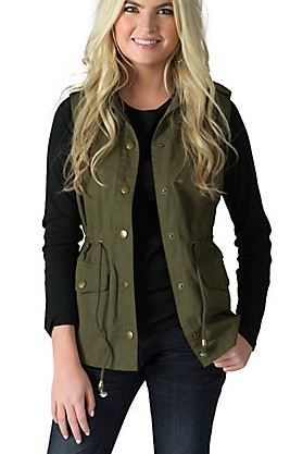I need everything in olive green