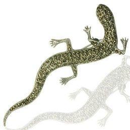 Brosa vintage salamandra - bijuterie din argint 925 cu marcasite. http://www.argintarie.ro/Brosa-din-argint-cu-marcasite-salamandra-p-16589-c-359-p.html