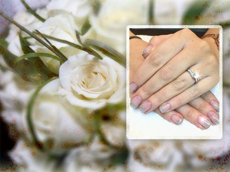 The beautiful brides nails