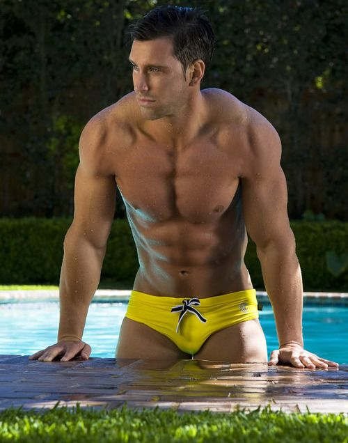 U-S-S-C: Eye Candy, Underwear, Speedo, Swimwear, Male, Sexy Men, Yellow, Hot Guys, Hot Men