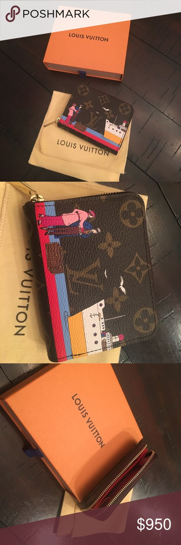 Louis Vuitton Coin Purse Brand new Louis Vuitton Coin Purse. Never used. Limited edition from 2016. Louis Vuitton Accessories Key & Card Holders