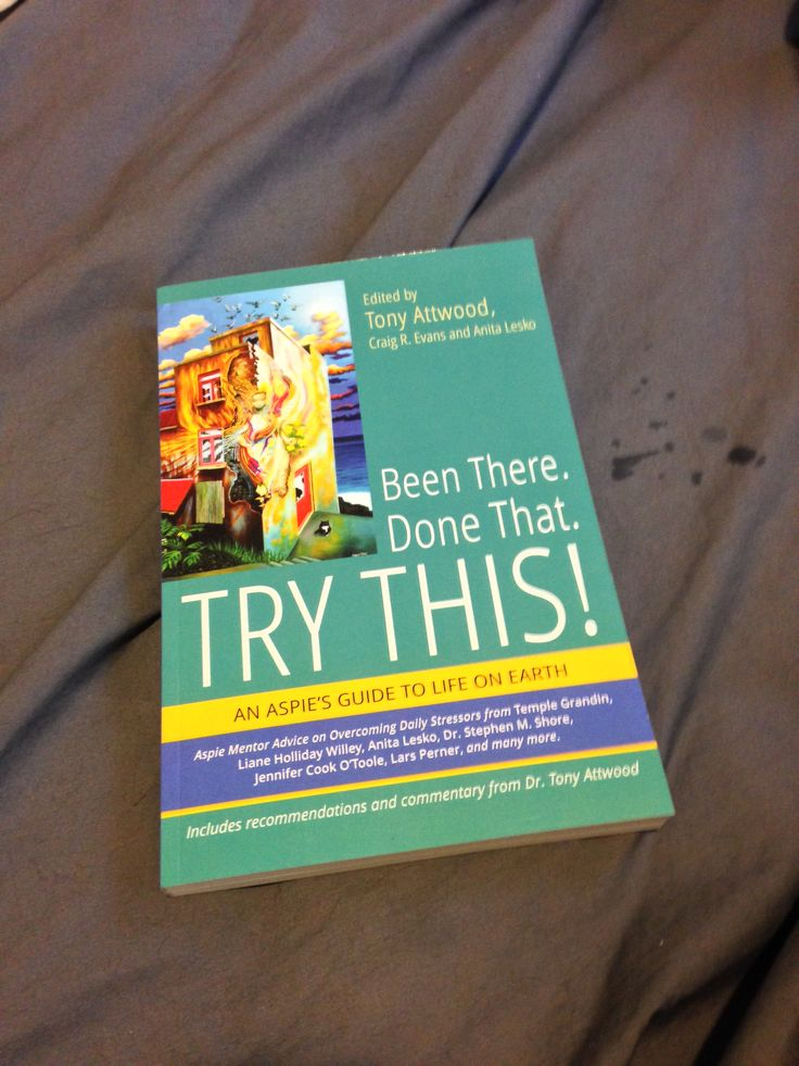Been There, Done That, Try This! Tony Attwood mentoring book I have essays in