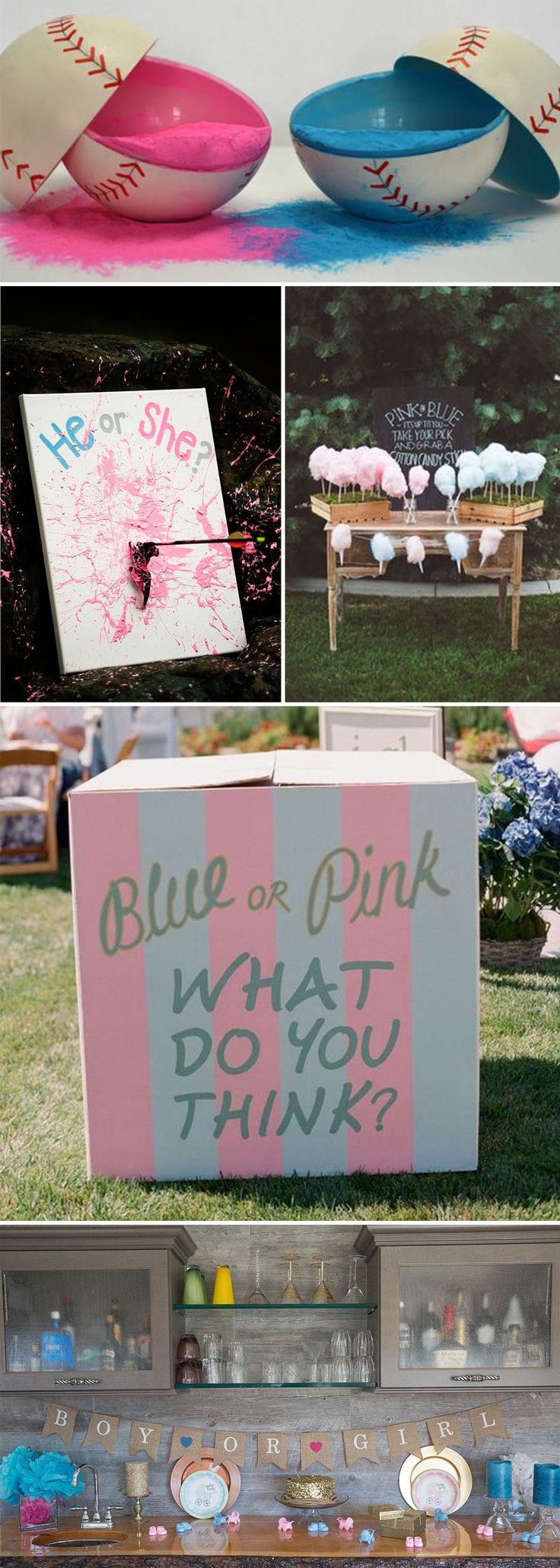 Having a gender reveal party? Use Code: REVEAL40 For 40% Off Today's Order...Welcome your little baby boy or girl into this world with our premium quality Gender Reveal Burlap Banner.