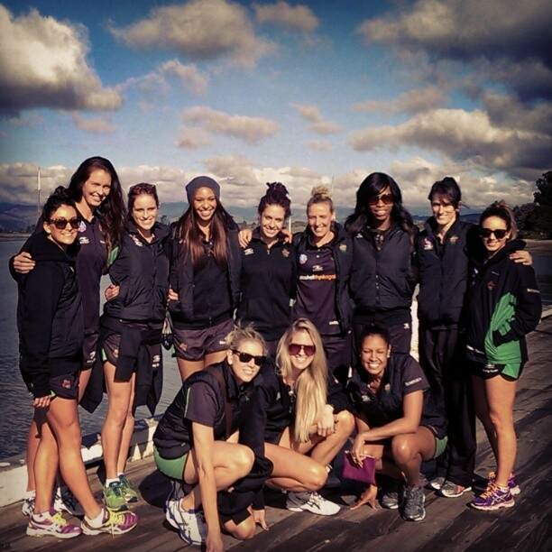 West Coast Fever group shot in NZ