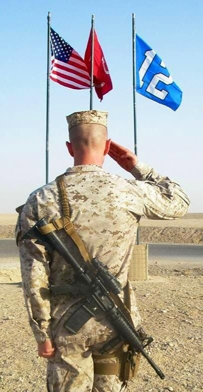 USMC and the 12th man!
