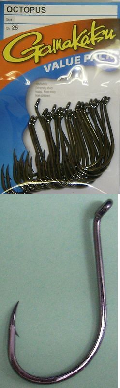 Other Terminal Tackle 179977: Gamakatsu Octopus Hooks Size 9/0 Amt 100 -> BUY IT NOW ONLY: $52.99 on eBay!