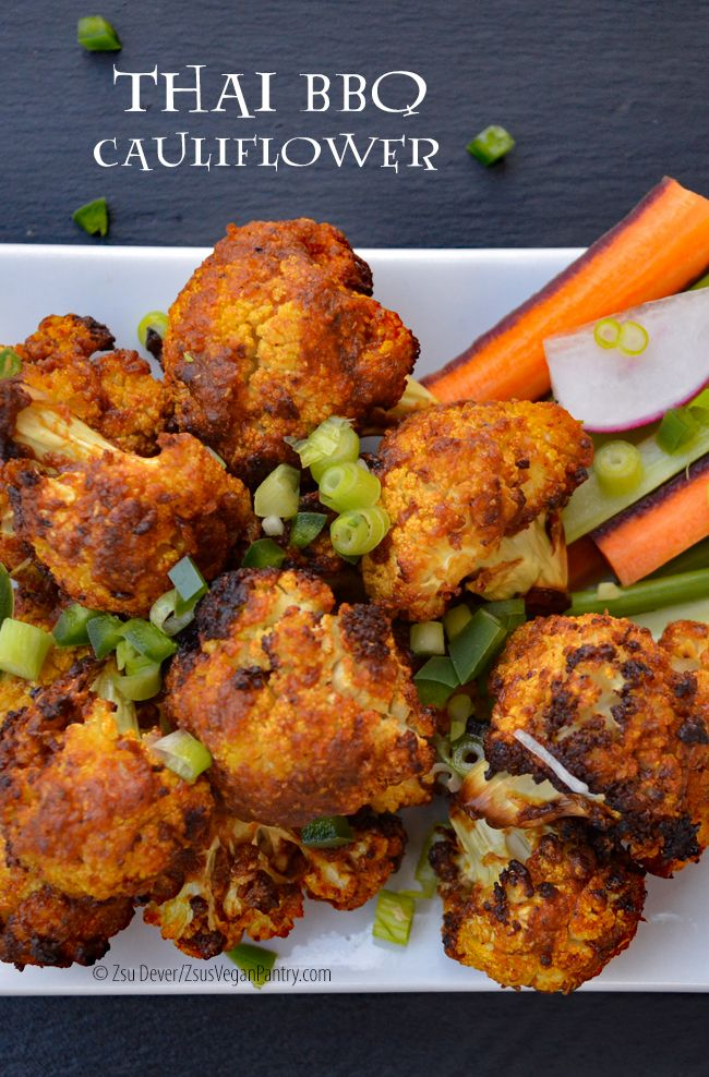 "I adore cauliflower and whoever it was who first thought of making them into ""wings"" needs a gold star in Hollywood.      I wanted to throw..."