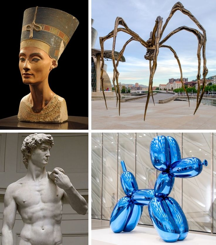 Here are 15 famous sculptures that have become iconic pieces of history.