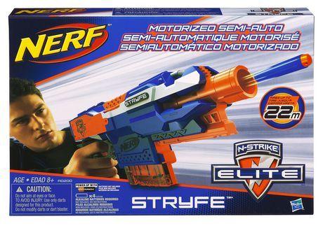 NERF N-STRIKE Elite STRYFE Blaster for sale at Walmart Canada. Buy Toys online at everyday low prices at Walmart.ca