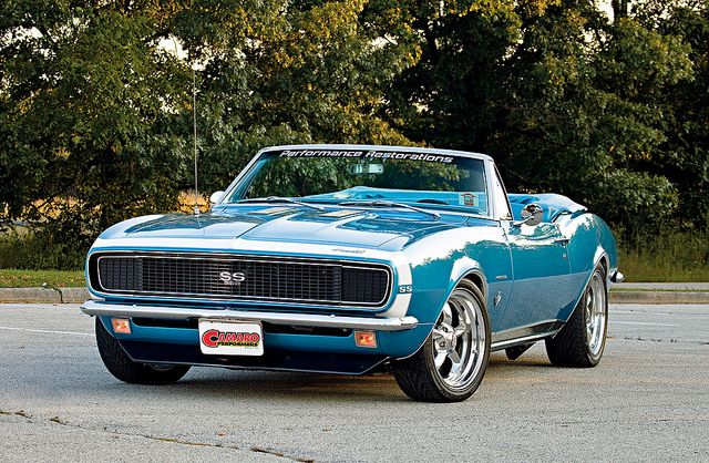 1967 Camaro RS SS 350 Convertible. Awesome American Muscle!