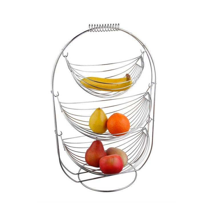 Dedeman Cos de fructe KIC-0331B - Accesorii pentru gatit - Accesorii pentru pregatirea mesei - Accesorii bucatarie - Decoratiuni - Dedicat planurilor tale