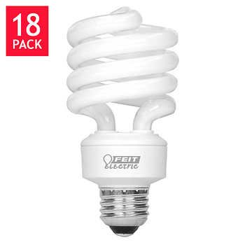 Feit CFL Twist 100W Replacement 2,700K Soft White 1,600 Lumens 18-pack