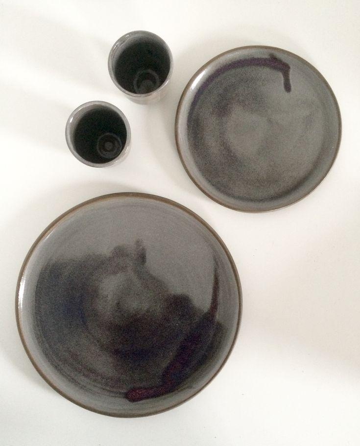 Plates by spiek ceramiczny