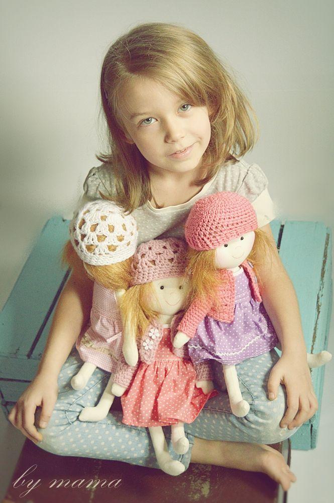 polandhandmade.pl #bymamastudio #doll #softdoll #pippi Laleczki- bymama studio