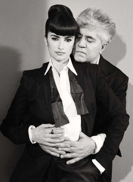 Penelope Cruz and Pedro Almodovar