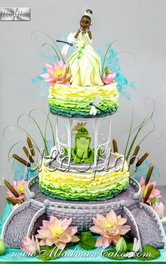 Princess and the frog Theme Cake by MLADMAN