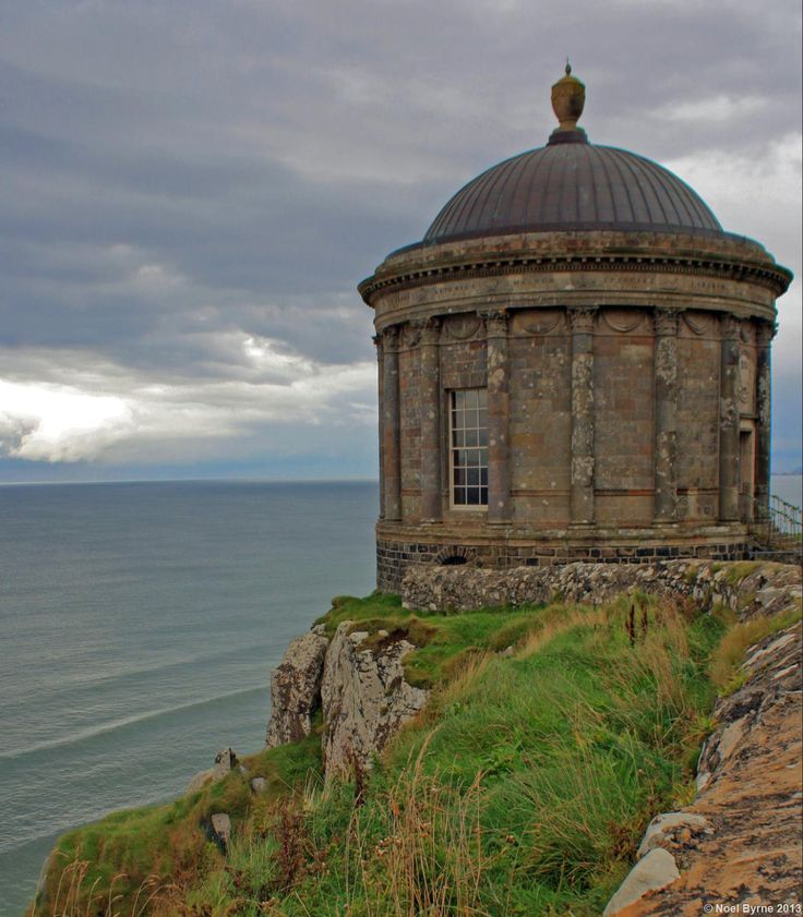 wedding venues in londonderry%0A Mussenden Temple is a small circular building located on cliffs near  Castlerock in County Londonderry