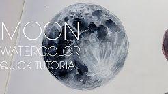 Wie zeichnet man Mondkrater – YouTube
