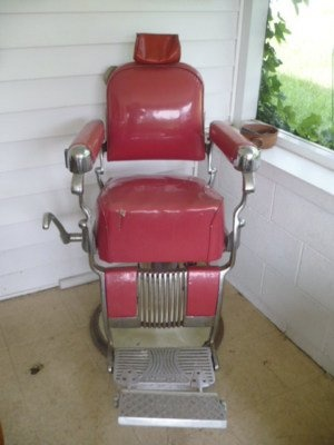 vintage belmont barber chair for sale - Barber Chairs For Sale