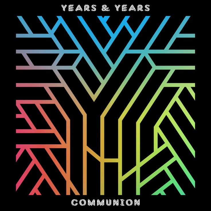 Years & Years Album Cover design by Andy Hayes