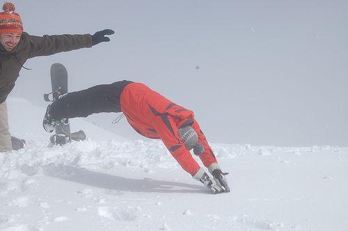 Snowdive Rissoul by Dijkie!, via Flickr