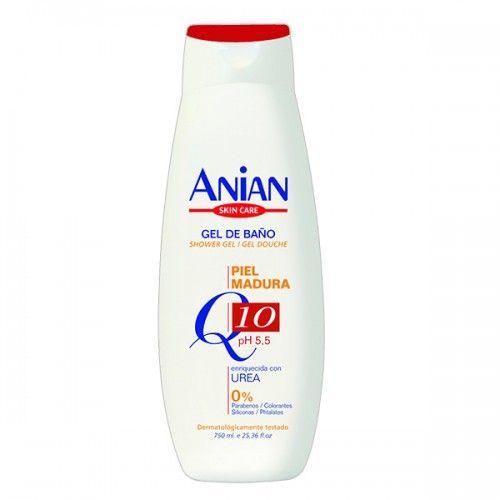 Gelul de dus anti-age cu coenzima Q10. ph 5.5. Fara parabeni, coloranti, siliconi si phtalati. Testat dermatologic.