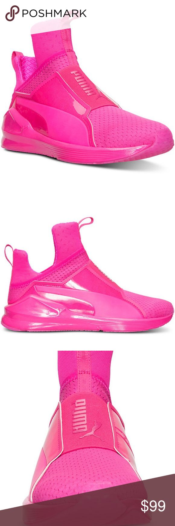 Puma Fierce Hot Pink Sneakers   Puma
