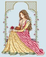 Shannon Christine Designs - Italian Lady (cross stitch chart)