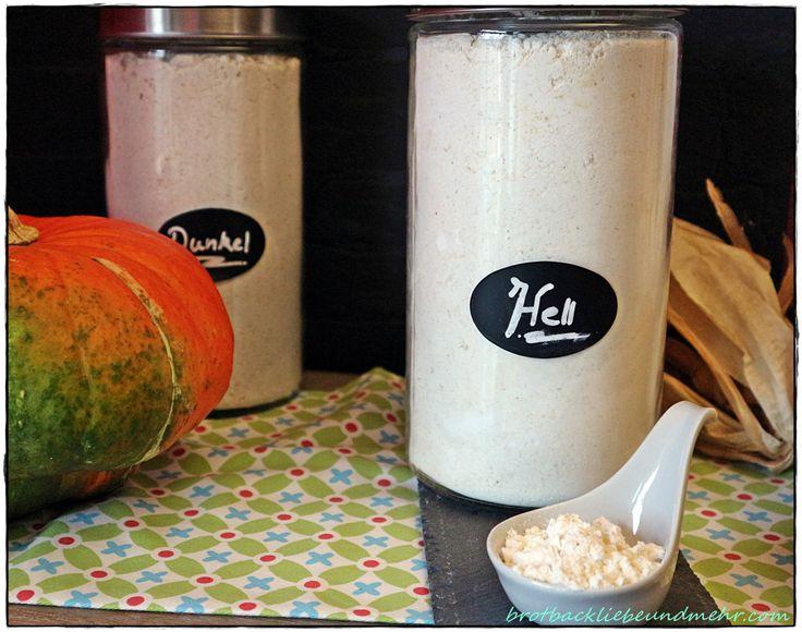 Glutenfreie Mehlmischung Nr. 4 für helle Brote brotbackliebeundmehr Foodblog