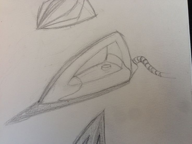Quick sketch of an iron