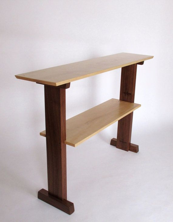 Narrow Hallway Tables : Standing Desk- Narrow table, console table, for narrow hallway table ...