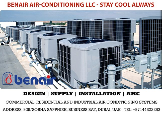 Benair Air Conditioning Co Llc Has Proven To Be One Of The
