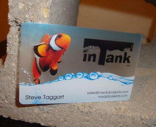 30 creative plastic business cards