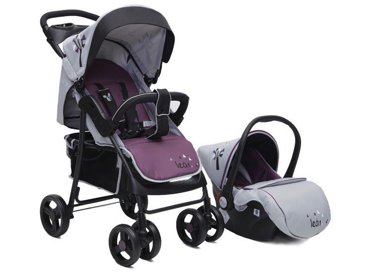 Caruciorul copii 2 in 1 Cangaroo Lea este ideal pentru bebelusii cu varsta de la 0 la 36 de luni. Este confortabil si perfect pentru plimbarile zilnice. Cosuletul-auto poate fi utilizat atat in masina, cat si ata
