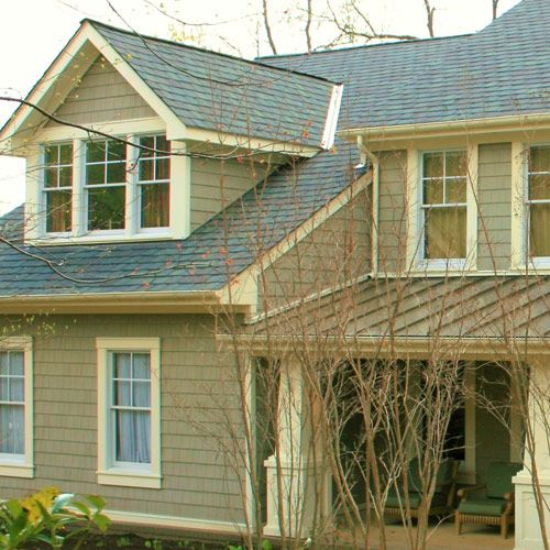 excellent how would this look with a warmer roof color like ours with gable  window ideas