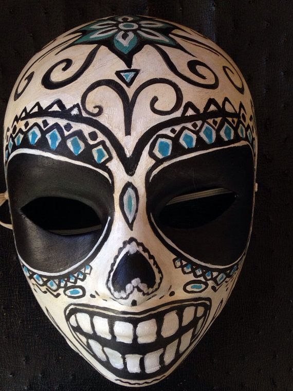 Savages Fan Sugar Skull Mask RESERVED | Savages, Fans and ...