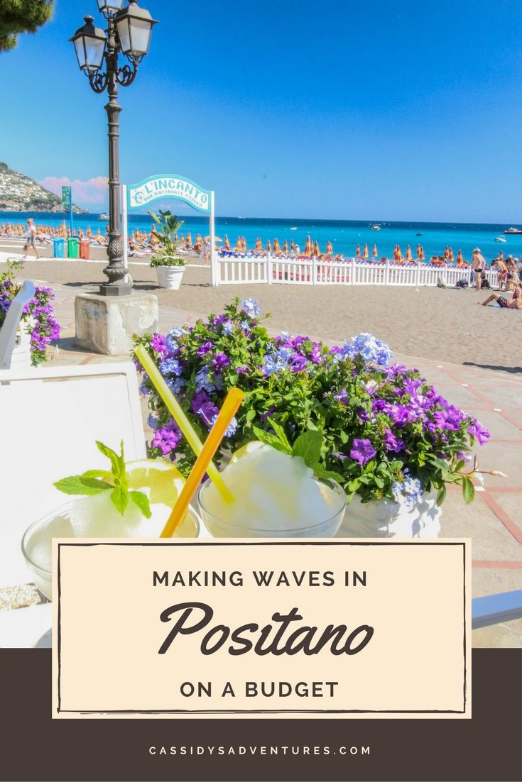 A one day guide to Positano, Italy on a budget. An itinerary for a not-so cliche traveler. What to do, where to stay, how to get there, what to eat, where to drink, and places with the best views.